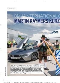 Titelbild der Ausgabe 4/2019 von TITELSTORY: BMW INTERNATIONAL OPEN 2019: MARTIN KAYMERS KURZFRISTIGER: HÖHENFLUG. Zeitschriften als Abo oder epaper bei United Kiosk online kaufen.