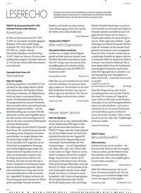 Titelbild der Ausgabe 1/2020 von FORUM: LESERBRIEFE: LESERECHO. Zeitschriften als Abo oder epaper bei United Kiosk online kaufen.