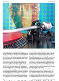 Titelbild der Ausgabe 1/2020 von SPOTLIGHT–ANALOG:TONARM-ENDABHEBUNG: LITTLE DISCO FWEND. Zeitschriften als Abo oder epaper bei United Kiosk online kaufen.