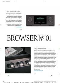 Titelbild der Ausgabe 4/2020 von BROWSER ? 01: FÜR SIE ENTDECKT: BROWSER ? 01. Zeitschriften als Abo oder epaper bei United Kiosk online kaufen.