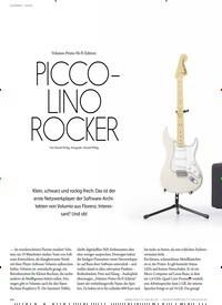 Titelbild der Ausgabe 4/2020 von EQUIPMENT - DIGITAL: NETZWERKPLAYER: Volumio Primo Hi-Fi Edition PICCOLINO ROCKER. Zeitschriften als Abo oder epaper bei United Kiosk online kaufen.
