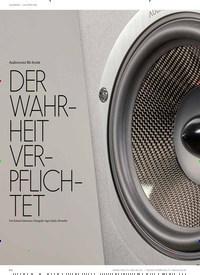Titelbild der Ausgabe 2/2021 von LAUTSPRECHER: STANDLAUTSPRECHER: Audiovector R6 Arreté: DER WAHRHEIT VERPFLICHTET. Zeitschriften als Abo oder epaper bei United Kiosk online kaufen.