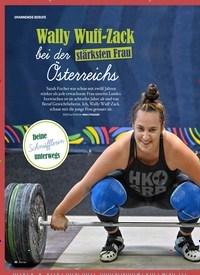 Titelbild der Ausgabe 3/2019 von SPANNENDE BERUFE: Wally Wuff-Zack: bei der stärksten Frau Österreichs. Zeitschriften als Abo oder epaper bei United Kiosk online kaufen.