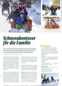 Titelbild der Ausgabe 4/2019 von Schneeabenteuer für die Familie. Zeitschriften als Abo oder epaper bei United Kiosk online kaufen.