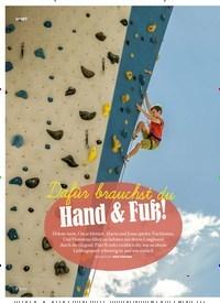 Titelbild der Ausgabe 3/2020 von Dafür brauchst du Hand & Fuß!. Zeitschriften als Abo oder epaper bei United Kiosk online kaufen.