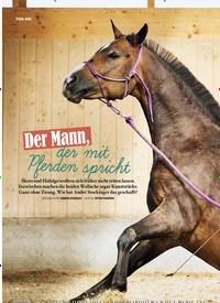 Titelbild der Ausgabe 3/2020 von Der Mann, der mit Pferden spricht. Zeitschriften als Abo oder epaper bei United Kiosk online kaufen.