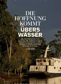 Titelbild der Ausgabe 3/2018 von HELDEN VON HEUTE: DIE HOFFNUNG KOMMT ÜBERS WASSER. Zeitschriften als Abo oder epaper bei United Kiosk online kaufen.