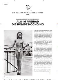 Titelbild der Ausgabe 4/2018 von ALS IM FREIBAD DIE BOMBE HOCHGING. Zeitschriften als Abo oder epaper bei United Kiosk online kaufen.