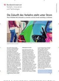Titelbild der Ausgabe 5/2018 von Die Zukunft des Verkehrs steht unter Strom. Zeitschriften als Abo oder epaper bei United Kiosk online kaufen.