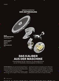 Titelbild der Ausgabe 5/2018 von MEILENSTEINE DER ZEITMESSUNG: DAS KALIBER AUS DER MASCHINE. Zeitschriften als Abo oder epaper bei United Kiosk online kaufen.