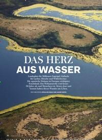 Titelbild der Ausgabe 1/2019 von LEBENSRAUM: DAS HERZ AUS WASSER. Zeitschriften als Abo oder epaper bei United Kiosk online kaufen.