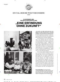 """Titelbild der Ausgabe 1/2019 von EIN TAG, DER DIE WELT VERÄNDERTE: """"EINE ERFINDUNG OHNE ZUKUNFT"""". Zeitschriften als Abo oder epaper bei United Kiosk online kaufen."""