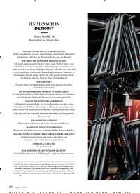 Titelbild der Ausgabe 3/2019 von EIN MENSCH IN DETROIT. Zeitschriften als Abo oder epaper bei United Kiosk online kaufen.
