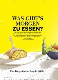 Titelbild der Ausgabe 3/2019 von DOSSIER ERNÄHRUNG: WAS GIBT'S MORGEN ZU ESSEN?. Zeitschriften als Abo oder epaper bei United Kiosk online kaufen.