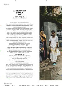 Titelbild der Ausgabe 4/2019 von MENSCH: EIN MENSCH IN DHAKA. Zeitschriften als Abo oder epaper bei United Kiosk online kaufen.