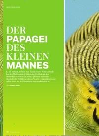 Titelbild der Ausgabe 6/2019 von ORNITHOLOGIE: DER PAPAGEI DES KLEINEN MANNES. Zeitschriften als Abo oder epaper bei United Kiosk online kaufen.