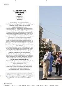 Titelbild der Ausgabe 1/2020 von EIN MENSCH IN MUMBAI. Zeitschriften als Abo oder epaper bei United Kiosk online kaufen.