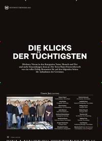 Titelbild der Ausgabe 2/2020 von DIE KLICKS DER TÜCHTIGSTEN. Zeitschriften als Abo oder epaper bei United Kiosk online kaufen.