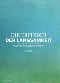Titelbild der Ausgabe 6/2020 von FABELWESEN: DIE ERFINDER DER LANGSAMKEIT. Zeitschriften als Abo oder epaper bei United Kiosk online kaufen.