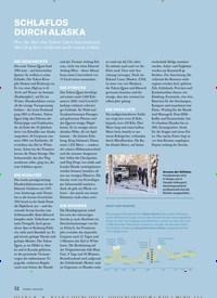 Titelbild der Ausgabe 1/2021 von REISE: SCHLAFLOS DURCH ALASKA. Zeitschriften als Abo oder epaper bei United Kiosk online kaufen.
