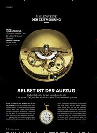 Titelbild der Ausgabe 1/2021 von MEILENSTEINE DER ZEITMESSUNG: SELBST IST DER AUFZUG. Zeitschriften als Abo oder epaper bei United Kiosk online kaufen.