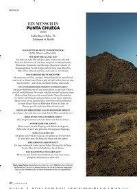 Titelbild der Ausgabe 5/2018 von EIN MENSCH IN PUNTA CHUECA. Zeitschriften als Abo oder epaper bei United Kiosk online kaufen.