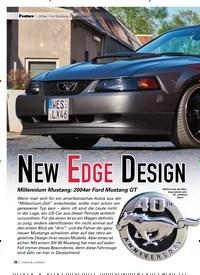 Titelbild der Ausgabe 8/2019 von 2004er Ford Mustang GT Convertible: NEW EDGE DESIGN. Zeitschriften als Abo oder epaper bei United Kiosk online kaufen.