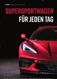 Titelbild der Ausgabe 9/2019 von 2020er Chevrolet Corvette Stingray: Supersportwagen für jeden Tag. Zeitschriften als Abo oder epaper bei United Kiosk online kaufen.