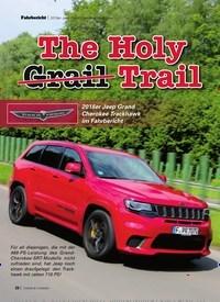 Titelbild der Ausgabe 9/2019 von 2018er Jeep Grand Cherokee Trackhawk: The Holy Grail Trail. Zeitschriften als Abo oder epaper bei United Kiosk online kaufen.