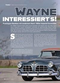 Titelbild der Ausgabe 9/2019 von WAYNE INTERESSIERT'S!. Zeitschriften als Abo oder epaper bei United Kiosk online kaufen.
