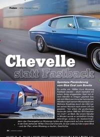 Titelbild der Ausgabe 12/2019 von 1970erChevroletChevelle ChevellestattFastback. Zeitschriften als Abo oder epaper bei United Kiosk online kaufen.