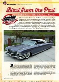 Titelbild der Ausgabe 2/2020 von 1959er Cadillac by John D'Agostino: Blast from the Past. Zeitschriften als Abo oder epaper bei United Kiosk online kaufen.