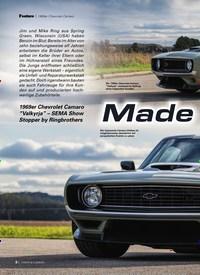 Titelbild der Ausgabe 3/2020 von 1969er Chevrolet Camaro:Made for Belgium. Zeitschriften als Abo oder epaper bei United Kiosk online kaufen.