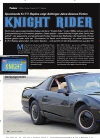 Titelbild der Ausgabe 3/2020 von 1992er Pontiac Firebird K.I.T.T.-Replica: Sprechende K.I.T.T.-Replica zeigt Achtziger-Jahre-Science-Fiction:Knight Rider. Zeitschriften als Abo oder epaper bei United Kiosk online kaufen.