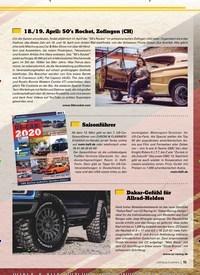 Titelbild der Ausgabe 4/2020 von Dakar-Gefühl für Allrad-Helden. Zeitschriften als Abo oder epaper bei United Kiosk online kaufen.