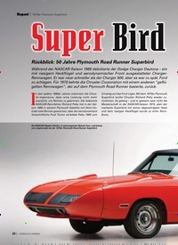 Titelbild der Ausgabe 4/2020 von Super Bird. Zeitschriften als Abo oder epaper bei United Kiosk online kaufen.