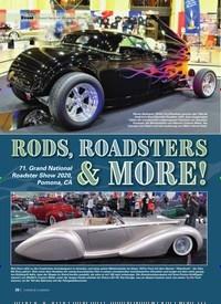 Titelbild der Ausgabe 4/2020 von RODS, ROADSTERS& MORE. Zeitschriften als Abo oder epaper bei United Kiosk online kaufen.