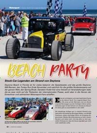 Titelbild der Ausgabe 4/2020 von BEACH PARTY. Zeitschriften als Abo oder epaper bei United Kiosk online kaufen.