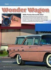Titelbild der Ausgabe 8/2019 von 1959er Pontiac Bonneville Safari: Wonder Wagon. Zeitschriften als Abo oder epaper bei United Kiosk online kaufen.