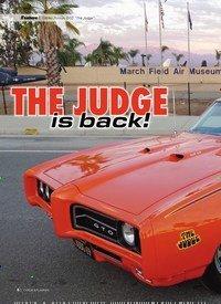 """Titelbild der Ausgabe 2/2020 von 1969er Pontiac GTO """"The Judge"""": THE JUDGE Is back!. Zeitschriften als Abo oder epaper bei United Kiosk online kaufen."""