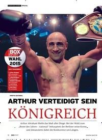 Titelbild der Ausgabe 1/2019 von ARTHUR VERTEIDIGT SEIN KÖNIGREICH. Zeitschriften als Abo oder epaper bei United Kiosk online kaufen.