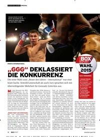 """Titelbild der Ausgabe 1/2019 von """"GGG"""" DEKLASS IERT DIE KONKURRENZ. Zeitschriften als Abo oder epaper bei United Kiosk online kaufen."""