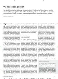 Titelbild der Ausgabe 3/2019 von Wanderndes Lernen. Zeitschriften als Abo oder epaper bei United Kiosk online kaufen.