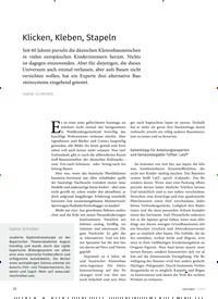 Titelbild der Ausgabe 4/2019 von Klicken, Kleben, Stapeln. Zeitschriften als Abo oder epaper bei United Kiosk online kaufen.