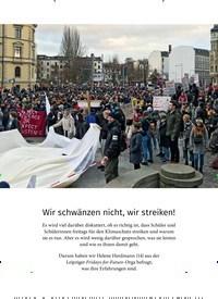 Titelbild der Ausgabe 4/2019 von Wir schwänzen nicht, wir streiken!. Zeitschriften als Abo oder epaper bei United Kiosk online kaufen.