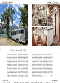 Titelbild der Ausgabe 10/2019 von TIPPS FÜR REISEN: Glamping in den Alpenländern. Zeitschriften als Abo oder epaper bei United Kiosk online kaufen.