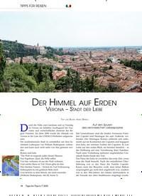 Titelbild der Ausgabe 7/2020 von DER HIMMEL AUF ERDEN VERONA – STADT DER LIEBE. Zeitschriften als Abo oder epaper bei United Kiosk online kaufen.