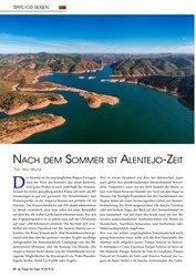 Titelbild der Ausgabe 9/2019 von Nach dem Sommer ist Alentejo-Zeit. Zeitschriften als Abo oder epaper bei United Kiosk online kaufen.