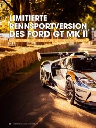 Titelbild der Ausgabe 1/2019 von HIGH PERFORMANCE: LIMITIERTE RENNSPORTVERSION DES FORD GT MK II. Zeitschriften als Abo oder epaper bei United Kiosk online kaufen.