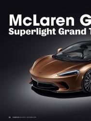 Titelbild der Ausgabe 1/2019 von McLaren GT Superlight Grand Touring. Zeitschriften als Abo oder epaper bei United Kiosk online kaufen.
